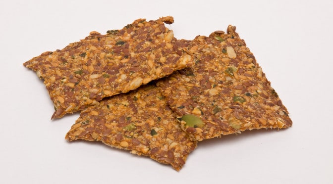 Sprouted Seed Cracker Recipe