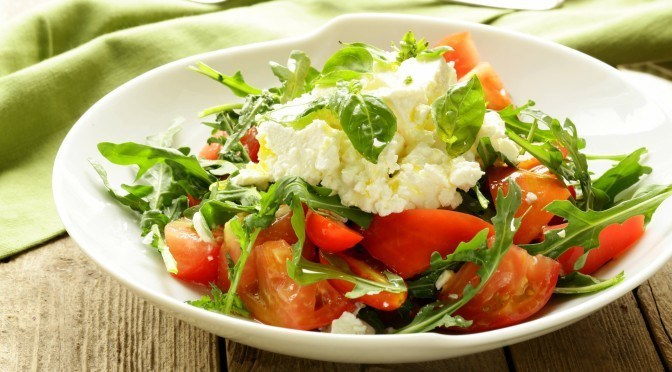 Goat Cheese Salad with Caramelized Balsamic