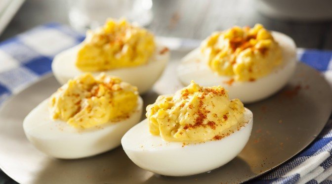 Healthy Deviled Eggs Recipe