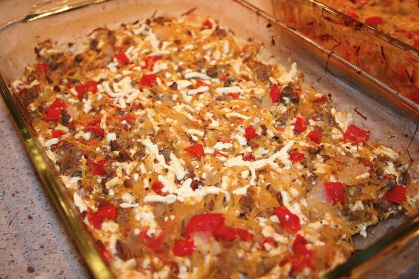 Beef Squash Casserole Recipe