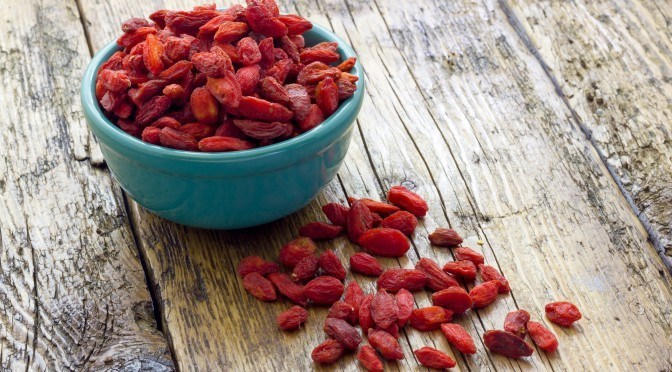 Healing Benefits of Goji Berries