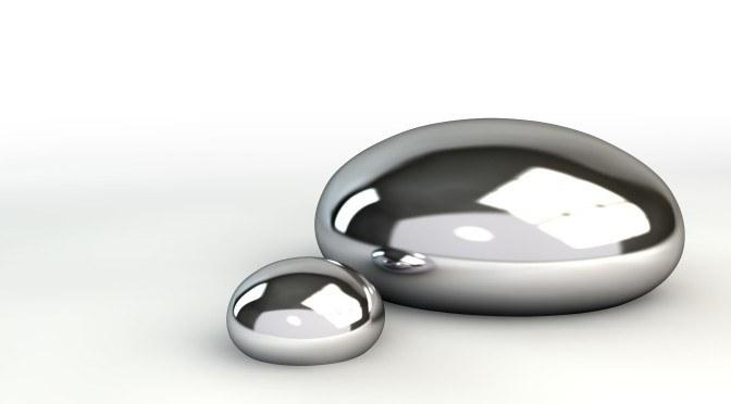 Mercury Droplets