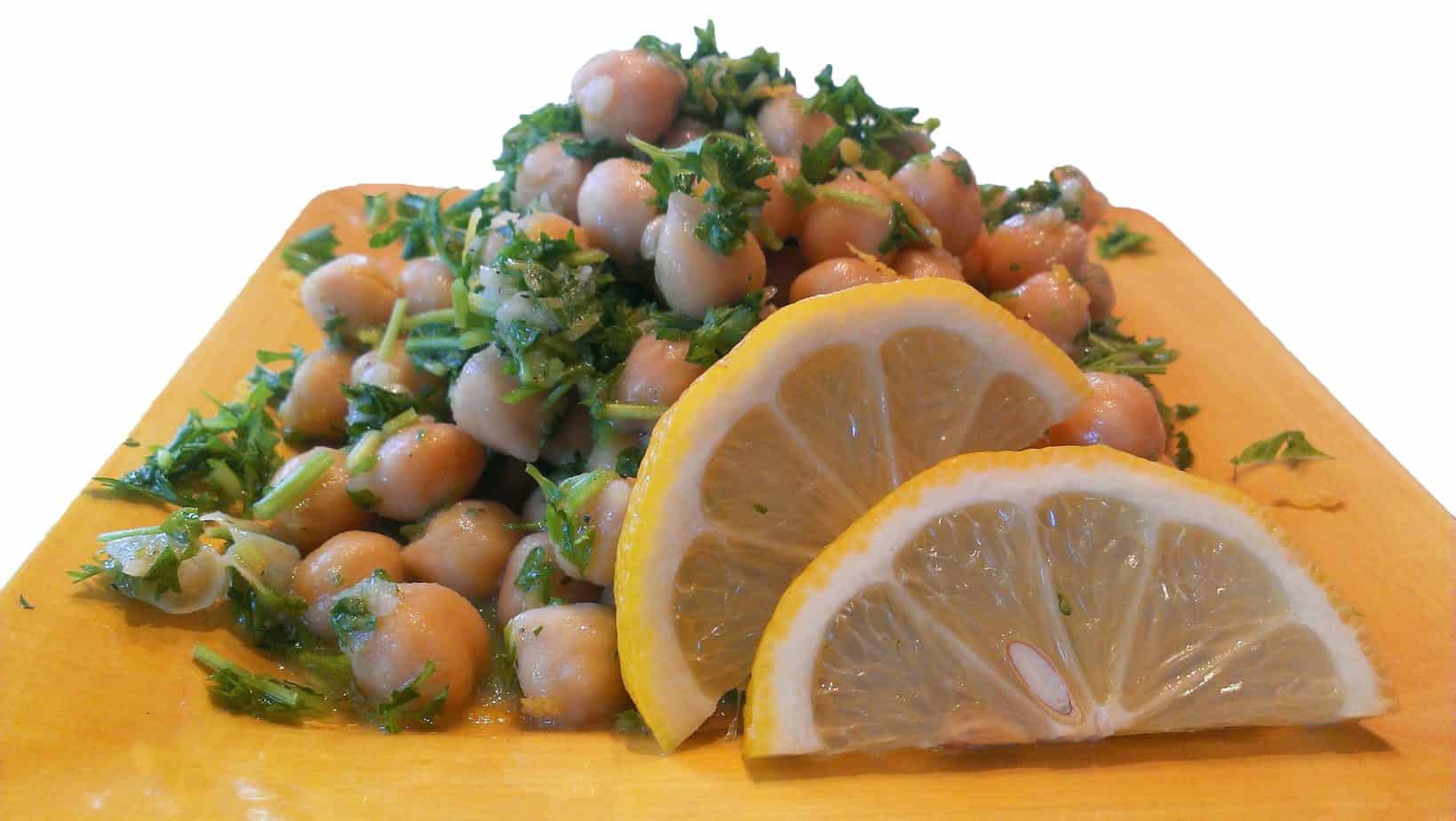 Zesty Lemon Chickpeas