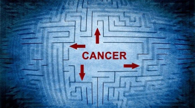 Cancer maze concept
