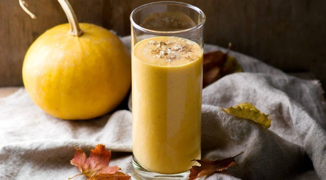 Spicy Vegan Pumpkin Pie Shake