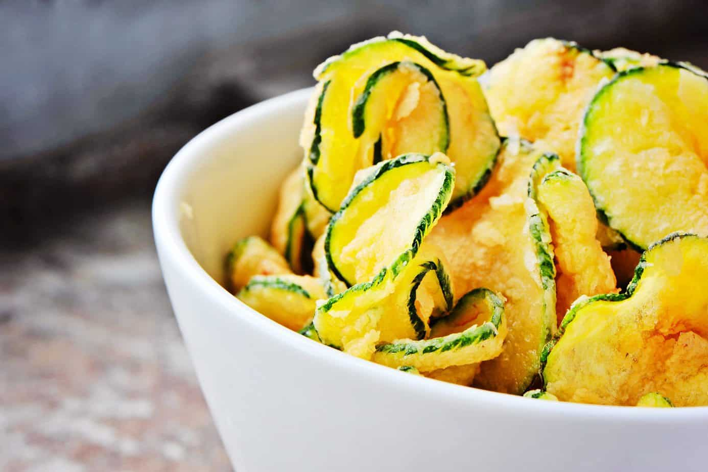 Salt and Vinegar Zucchini Chips | Healing the Body