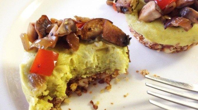 Herbes de Provence Cashew Cream Tartlet