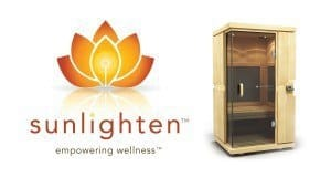 Sunlighten Logo with Sauna